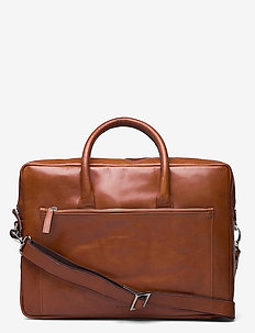 Focus Day Bag - computertasker - cognac