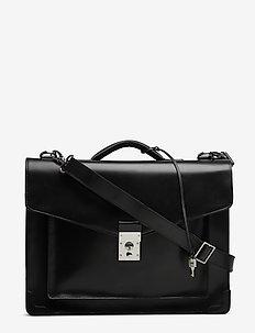 New Conductor Briefcase - BLACK