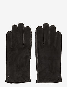 Nano Raw Suede Touch Gloves - BLACK