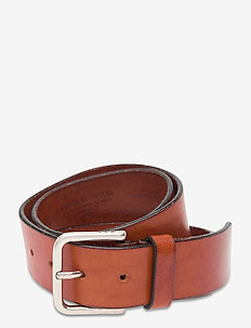 Defiance Belt - belts - cognac