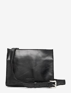 Bullet Evening Bag - shoulder bags - black