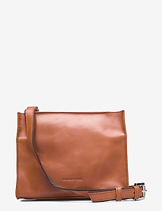 Bullet Evening Bag - olkalaukut - cognac