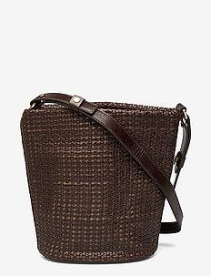 Aria Braided Bucket Bag - bucket-laukut - brown