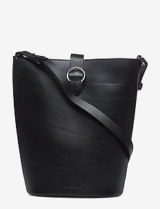 Aria Bucket Handbag - BLACK