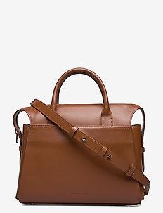 Crown Handbag - skuldervesker - biscotto