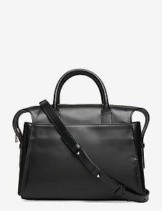 Crown Handbag - skuldervesker - black