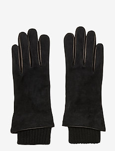 Ground Suede Gloves Touch - rękawiczki - black