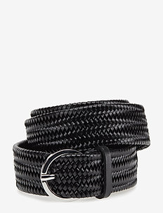 Orbit Braided Belt - BLACK