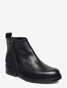 Ave Zip Boot - BLACK