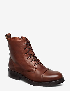 Ave Lace Up Boot - TAN