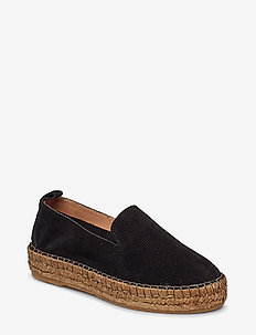 Wayfarer Perform Loafer Suede - BLACK