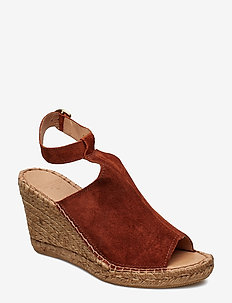 Wayfarer High Wedge - TAN