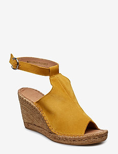 Wayfarer High Wedge - YELLOW