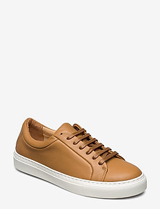 Elpique Derby Shoe - CAMEL