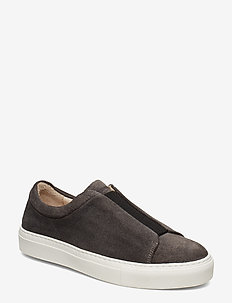 Elpique Derby Elastic Suede - ANTHRACITE