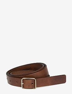 Border Belt - classic belts - cognac