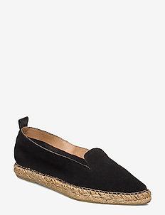Pilgrim Suede Loafer - matalat - black