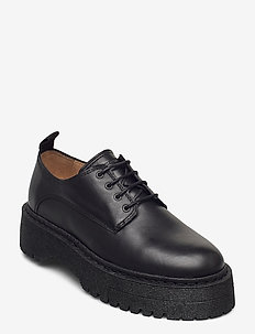 Command Derby Shoe - veterschoenen - black