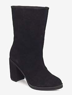 Bridge Hi Boot Suede - BLACK