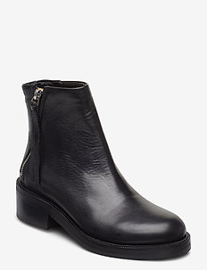 District Ankle Boot - enkellaarsjes met hak - black