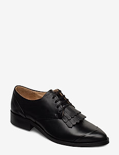 Prime Fringe Shoe - veterschoenen - black