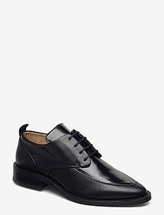 Prime Glaze Derby Shoe - buty sznurowane - black