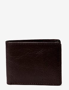 City wallet - klassiches portemonnaie - brown