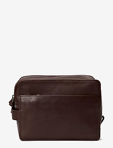 Gemin Toilet Bag Mini - kulturtaschen - brown