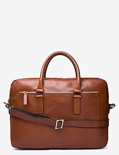 Focus Laptop Bag - computertasker - cognac