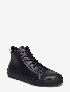 ELPIQUE TRI LOW CUT - hoog - black w/white heel