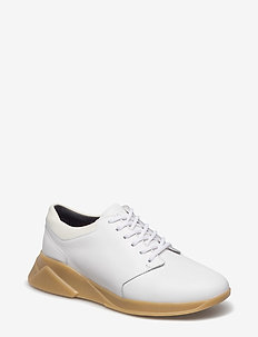 FORCE DERBY SHOE WMN - chunky sneaker - white