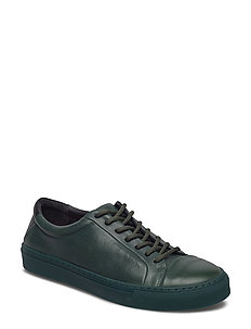 SPARTACUS TRI SHOE - DARK GREEN W/BLACK HEEL