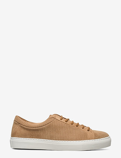 Spartacus Suede Corduroy Derby Shoe 201 - laag sneakers - camel