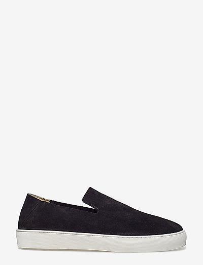 Doric Loafer Suede 191 - slip-on schoenen - black