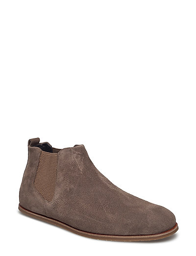 EVO LOW CHELSEA SUEDE - TAUPE