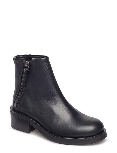 District Zip Boot - BLACK