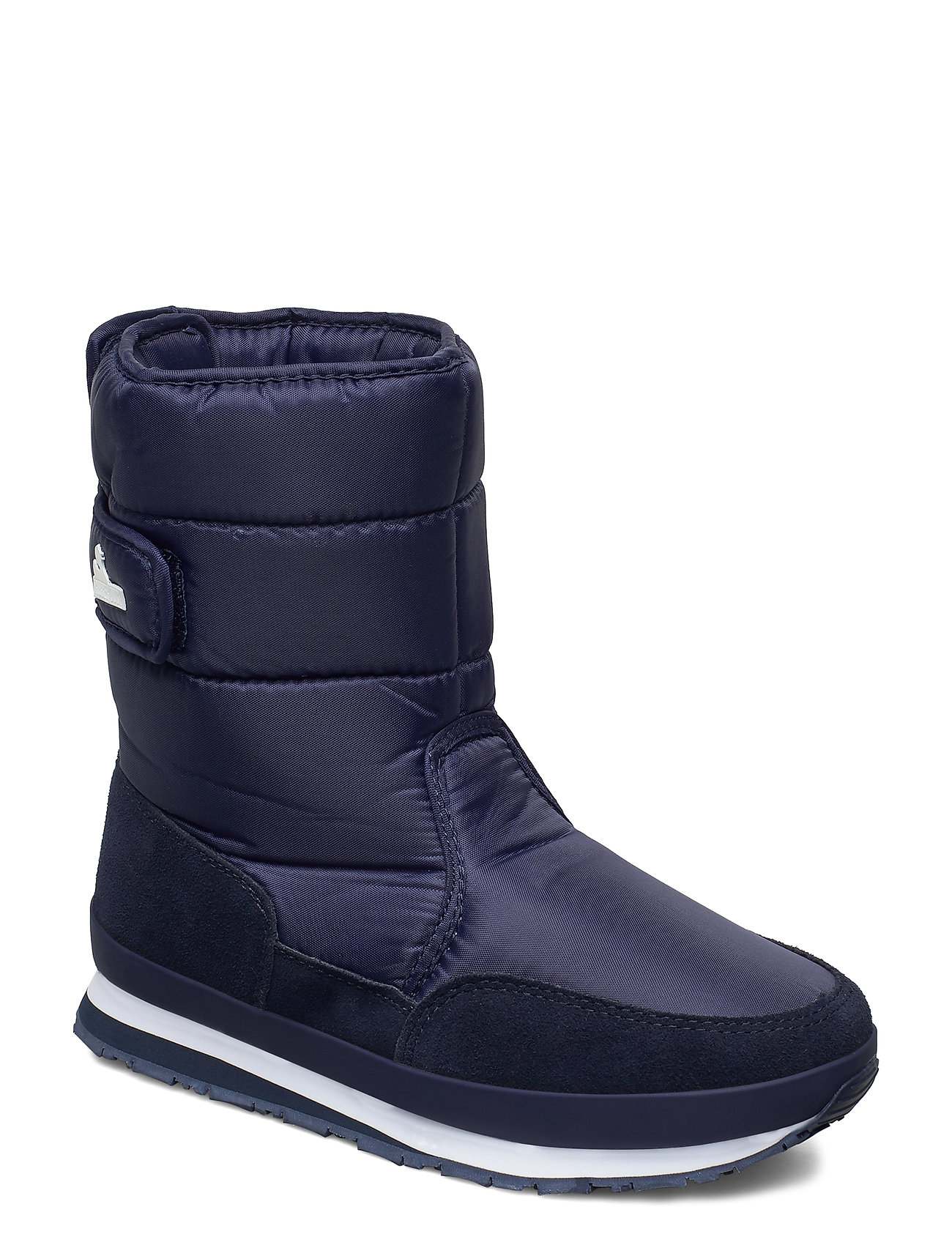 Image of Rd Nylon Suede Solid Shoes Boots Ankle Boots Ankle Boot - Flat Blå Rubber Duck (3454942567)