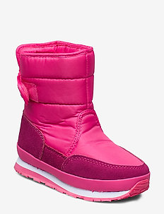 RD NYLON SUEDE SOLID KIDS - PINK