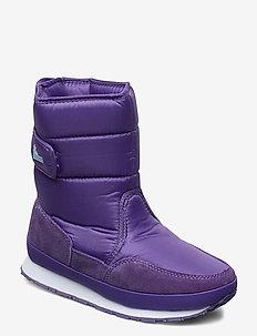 RD CLASSIC SNOWJOGGER SOLID - platte enkellaarsjes - purple