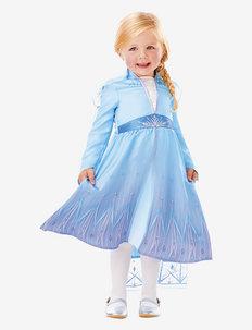 COSTUME RUBIES TODDLER ELSA TRAVEL DRESS 98 CL - costumes - multi colour