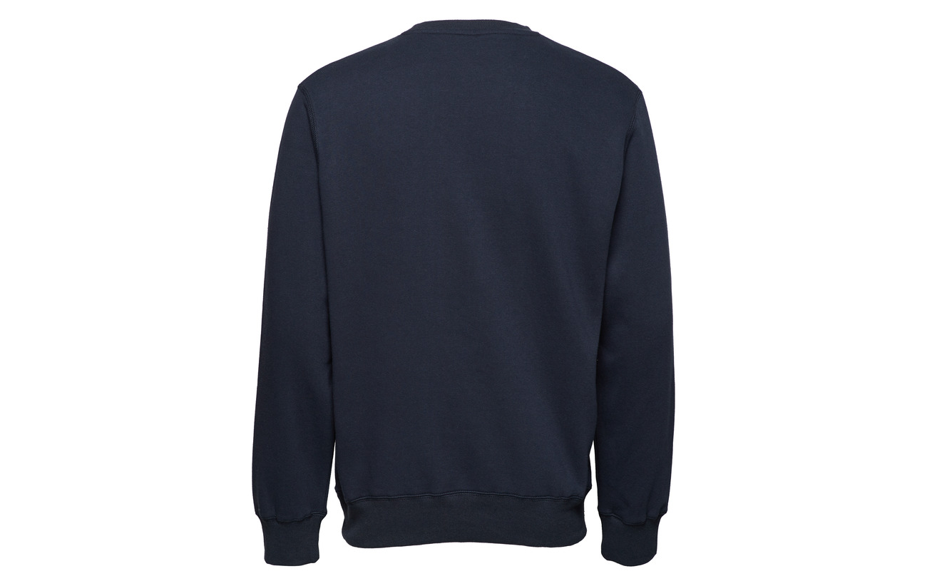 Tackle Coton Twill Polyester Sweatshirt Athletic Équipement 55 Crew Neck 45 Ru Navy Russell 4IUHR4