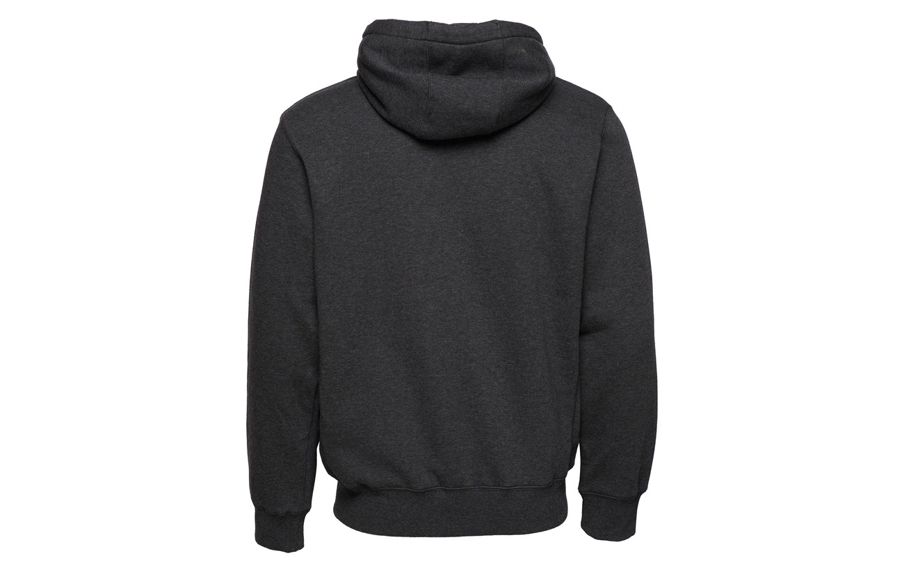 Tackle Ru Zip Twill Équipement Russell Hoody Through Charcoal Winter Polyester Athletic 45 Coton Marl 55 E5Iwxq4