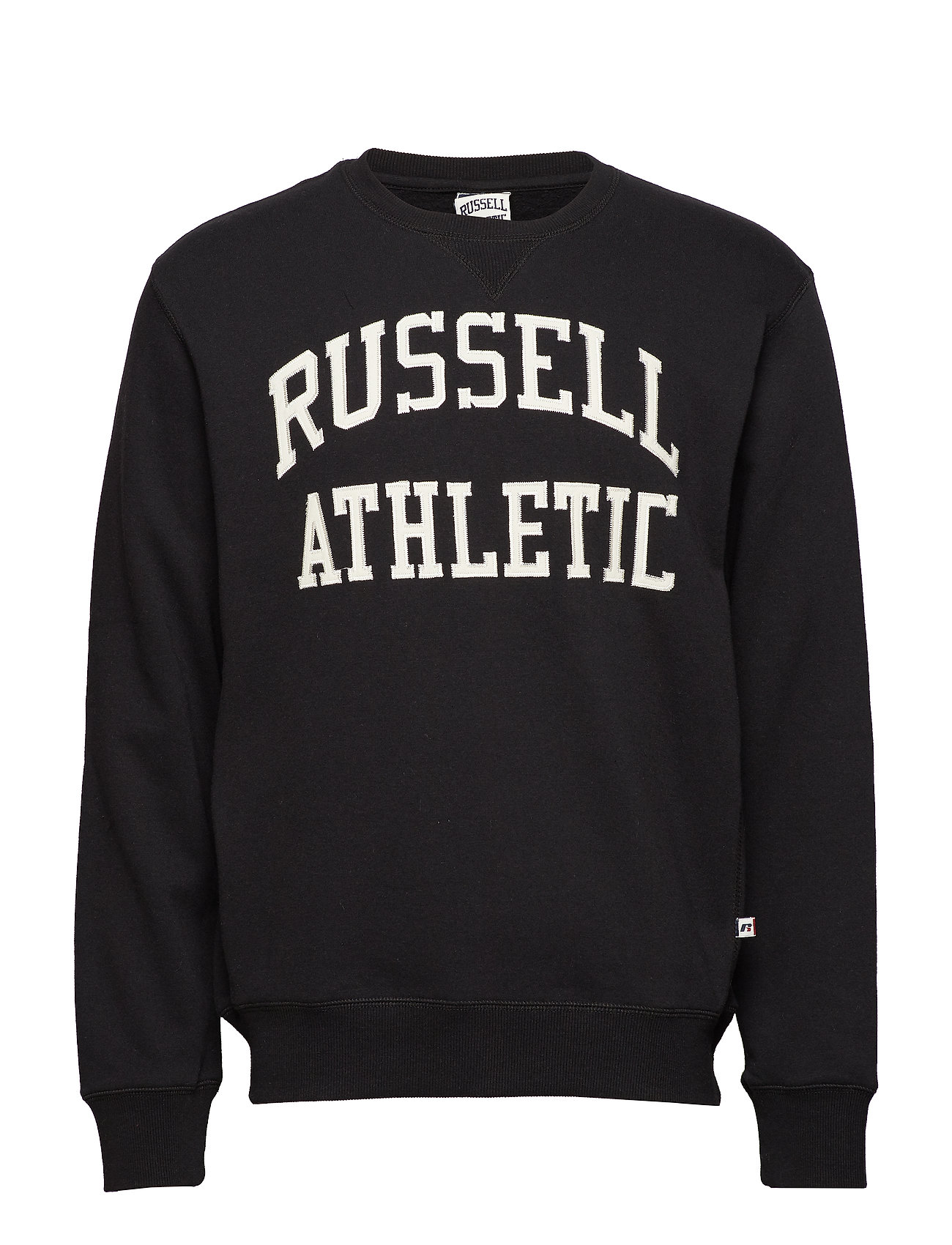 89ff68ccacd27 Ru Crew Neck Tackle Twill Sweatshirt (Black) (£45) - Russell ...
