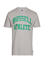 RU ICONIC S/S T-SH - NEW GREY MARL