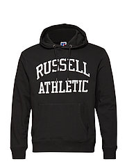 RU ICONIC TWILL HOODY SWTSH - BLACK