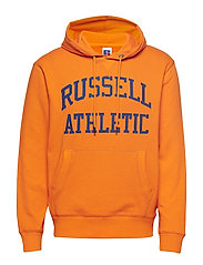 RU ICONIC TWILL HOODY SWTSH - VIBRANT ORANGE