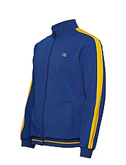 Russell Athletic - RU ANGELES-STRIPED TRCK JCKT - track jackets - mazarine blue - 2