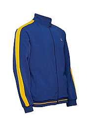 Russell Athletic - RU ANGELES-STRIPED TRCK JCKT - track jackets - mazarine blue - 3