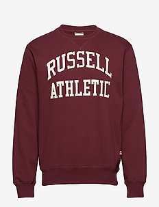 RU CREW NECK TACKLE TWILL SWEATSHIRT - FIG