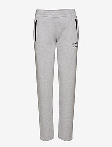 RU ZIP PANT - BRIGHT GREY MARL